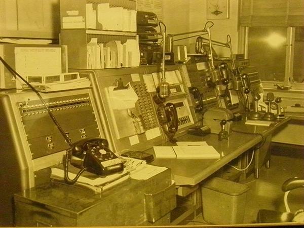 1960's SFPD Radio Room