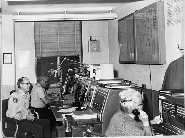 1965 SFPD Radio Room